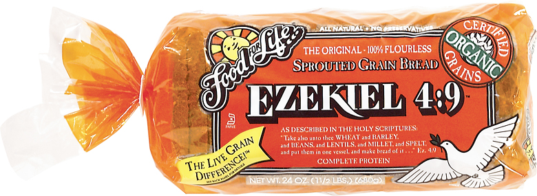 Food for Life, Ezekiel 4:9 Bread, Original Sprouted, Organic Protein Bread