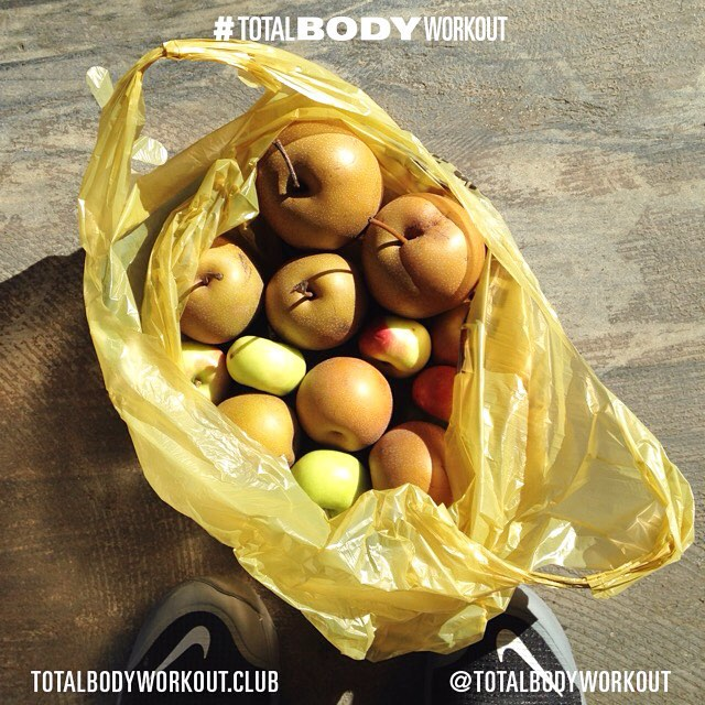 #WorkINSPO: 🍏🍐🍎#Sundays 🍎🍏🍐 Good #carbs exist in many forms, they give your body fuel for carrying out your daily activities including strenuous exercise. Don't let fad diets ruin your relationship with food that gives you strength to carry out your goals. Know what to eat and when to eat it! Bounty from the #Weekend #farmersmarket  #TOTALBODYWORKOUT