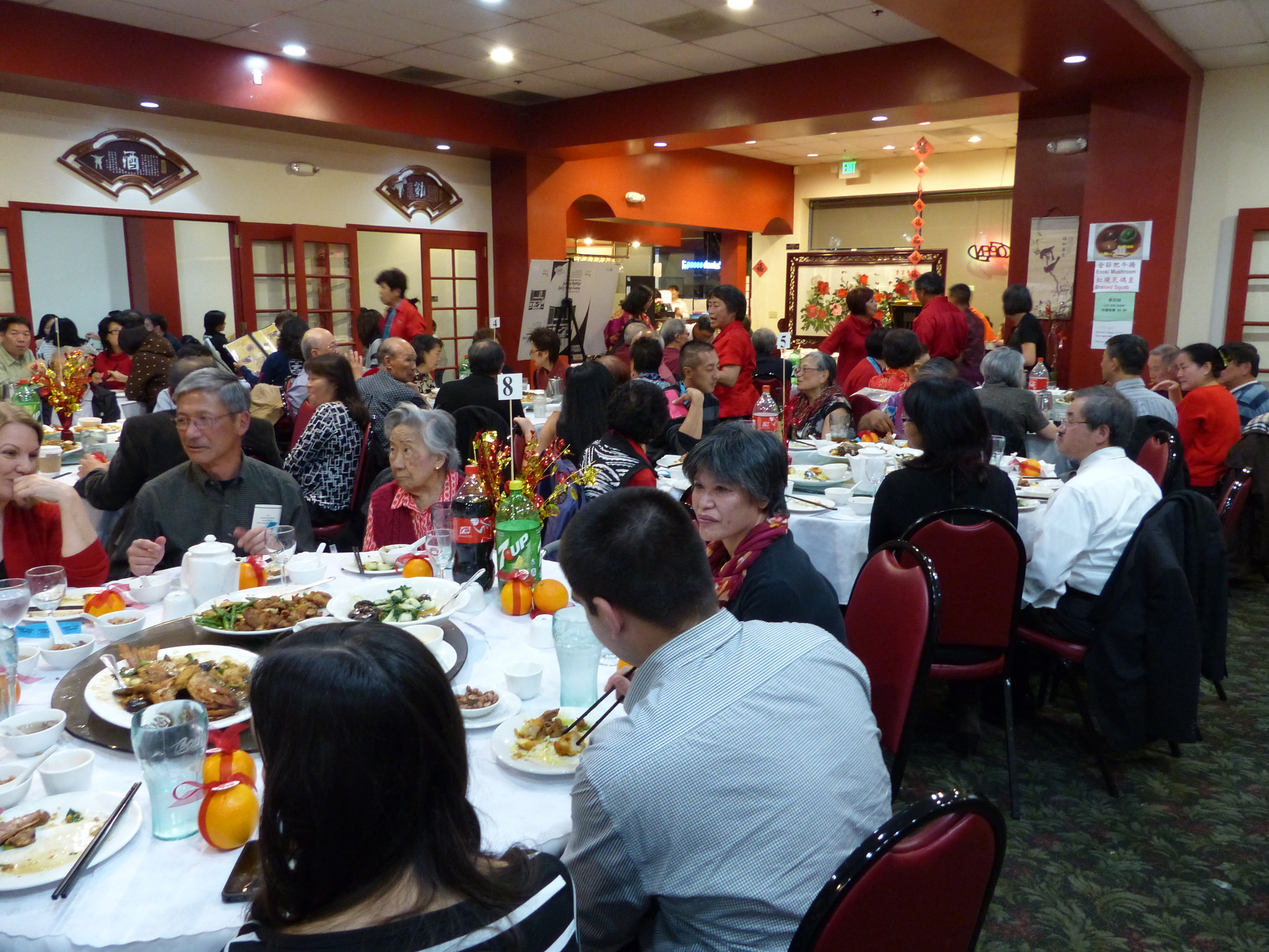 2015 SBCC Chinese New Year Dinner at Chinese Cuisine Restaurant