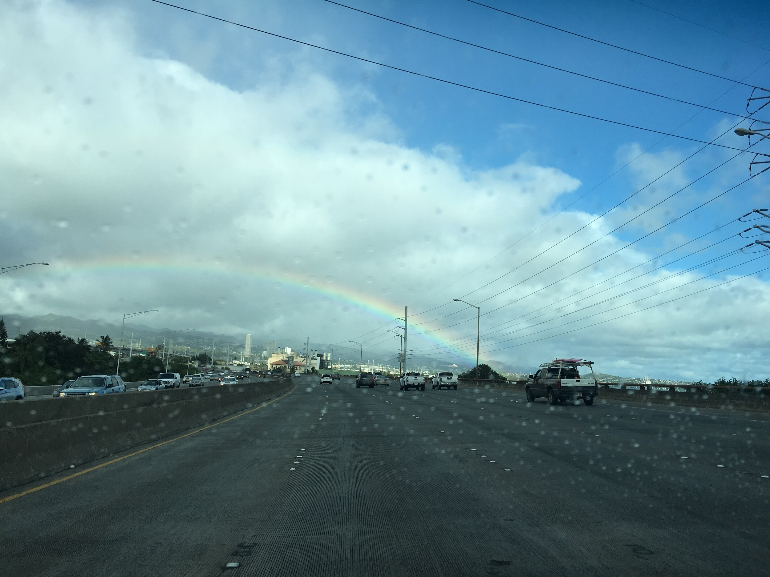 One of the awesome things we might take for granted in Hawaii, rainbows.