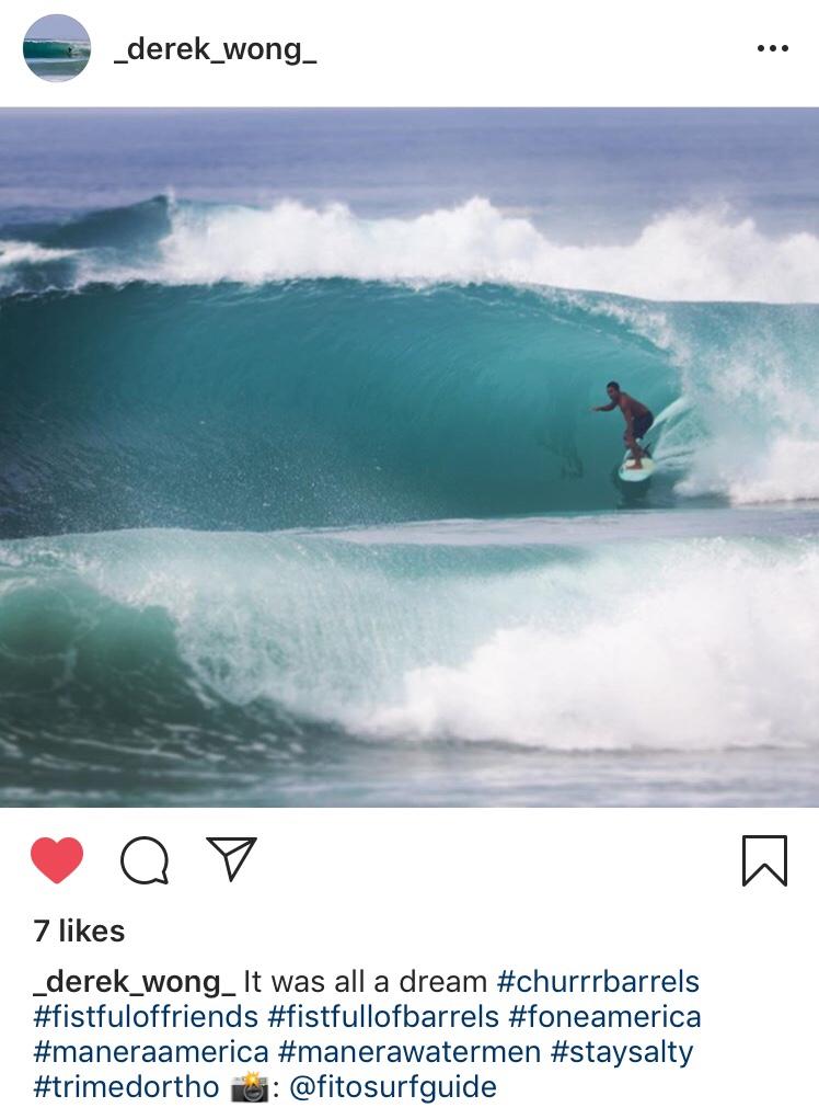 Derek Wong in Mexico.