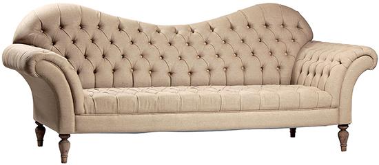 French Salon Sofa