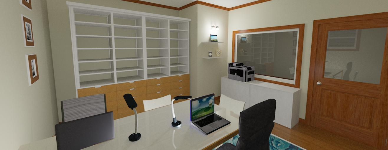 Computer rendering of our new space