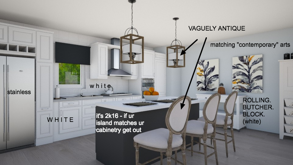 Using Pinterest and Houzz for inspiration will land you with a very generic space, looking just like your neighbors. Trust your designer to create something unique to YOU!