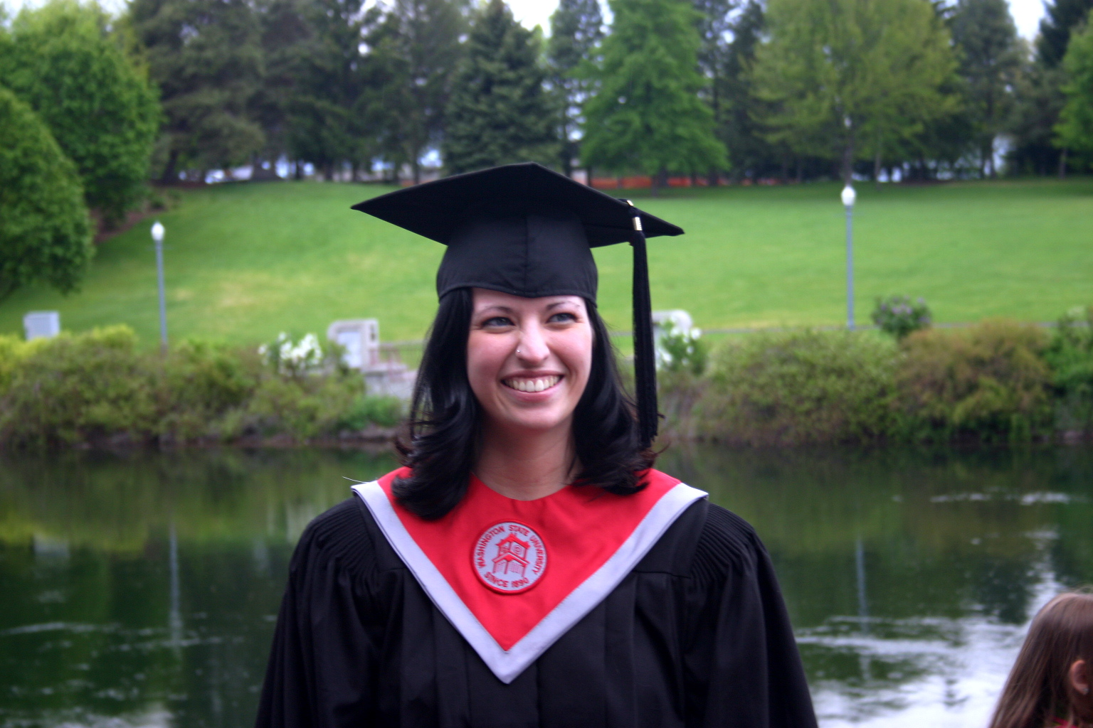 Here I am, way back when, getting my first accredited college degree in interior design. The second degree I received was an MBA. Today, I am studying to take the NCIDQ in the spring.