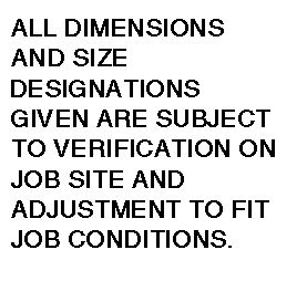 This note graces every page of the contract documents provided by Waldron Designs.