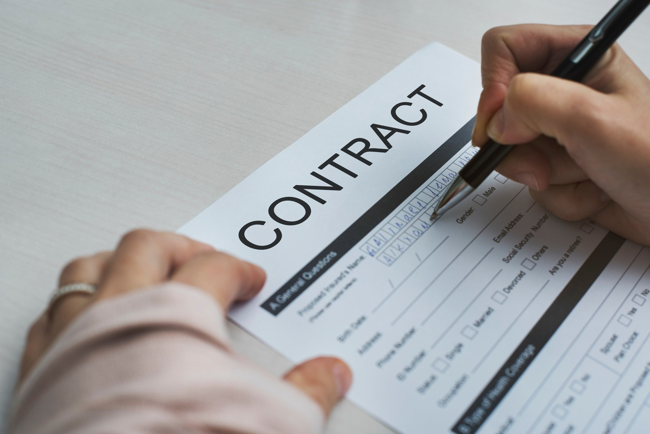 Keep reading to know what to look for in the contract!