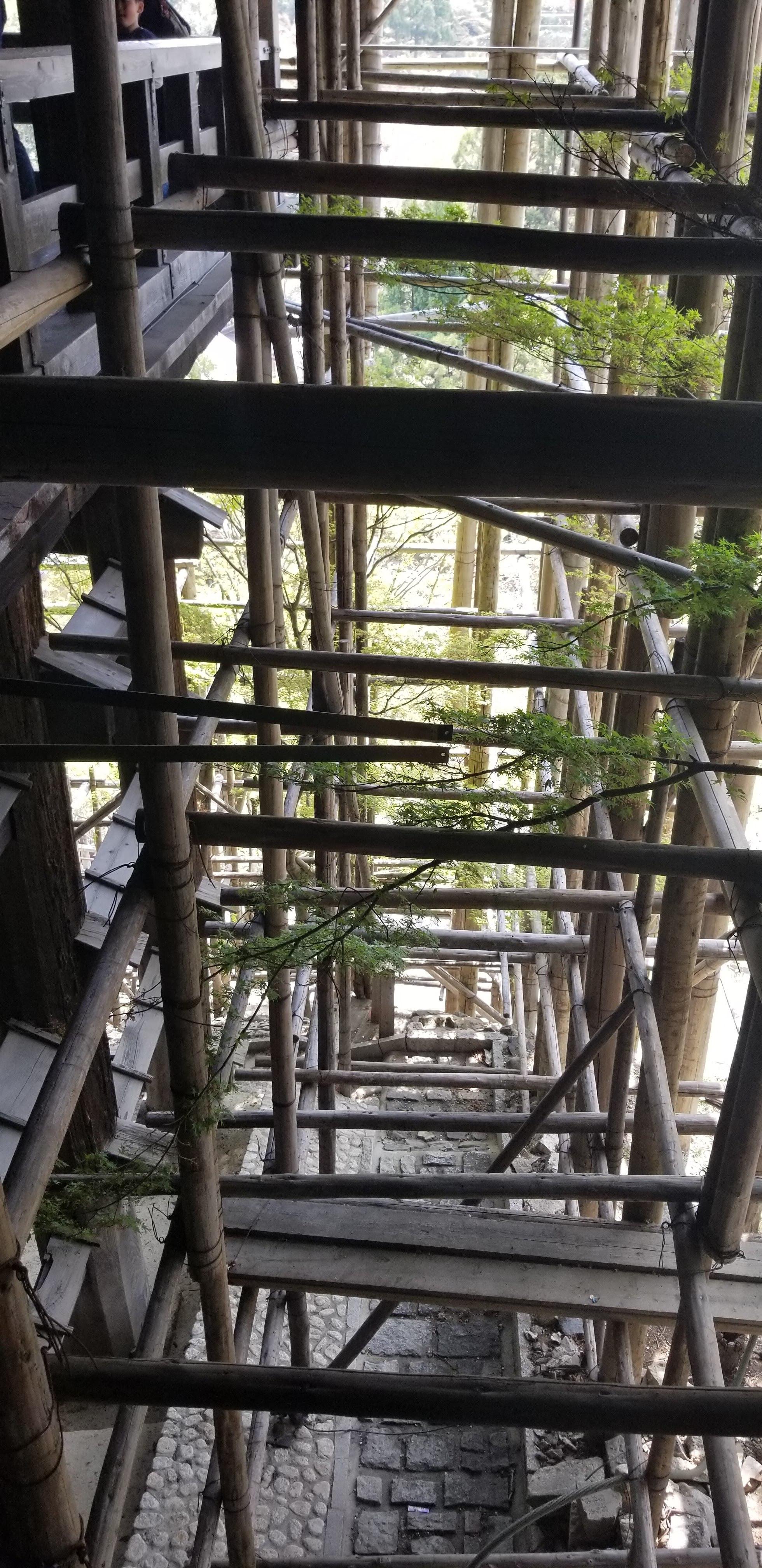 Amazing scaffolding