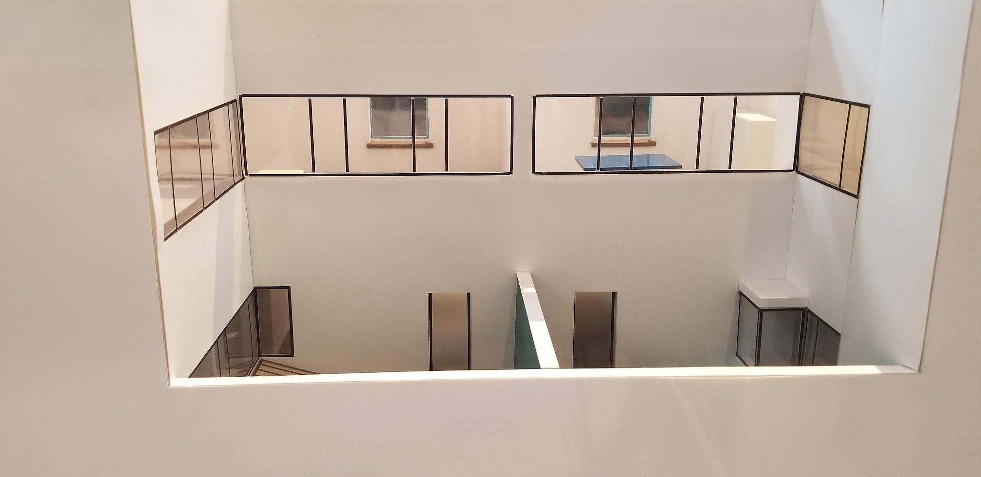 A Model built by Les Corbusier