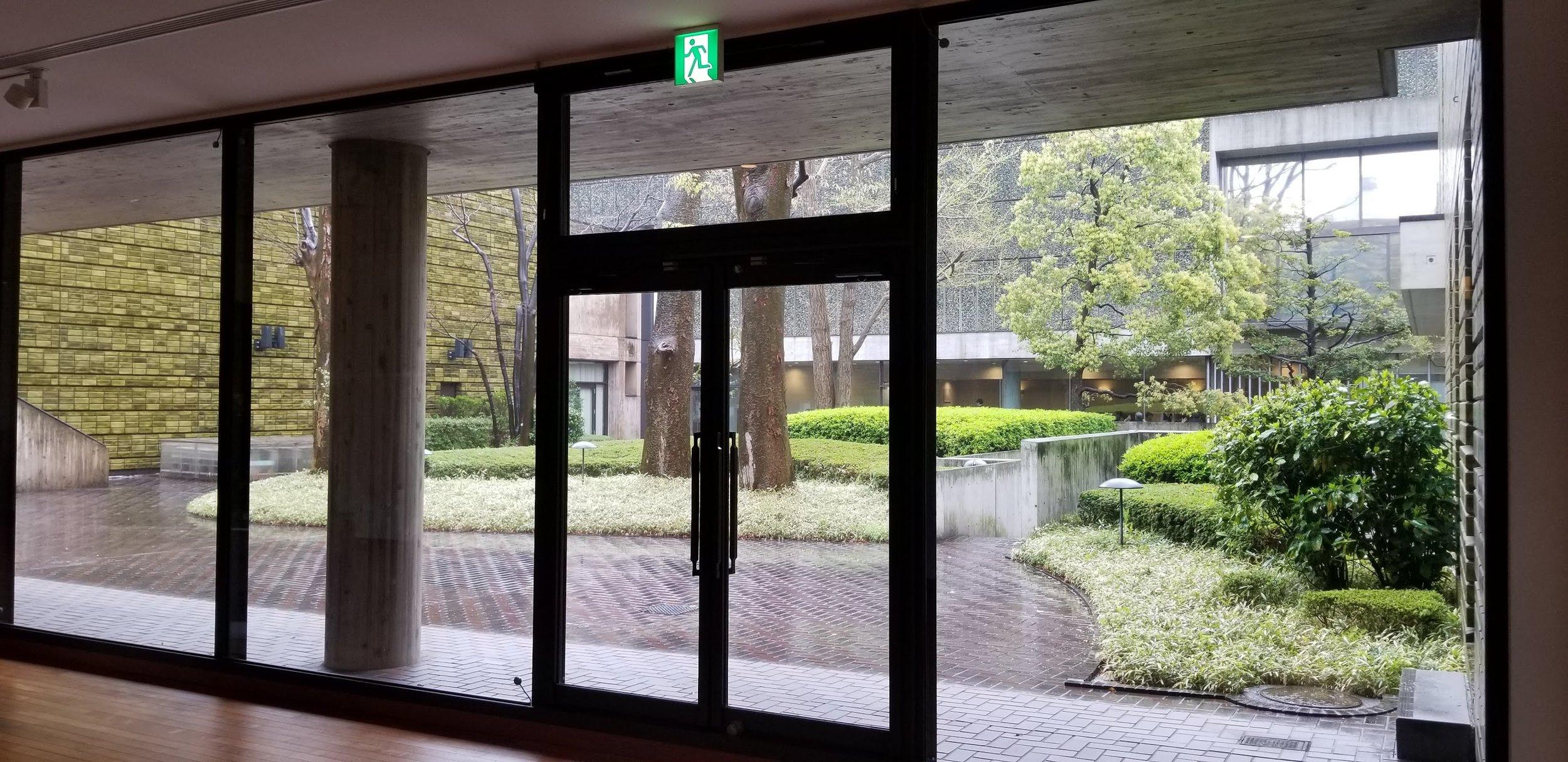 An indoor outdoor