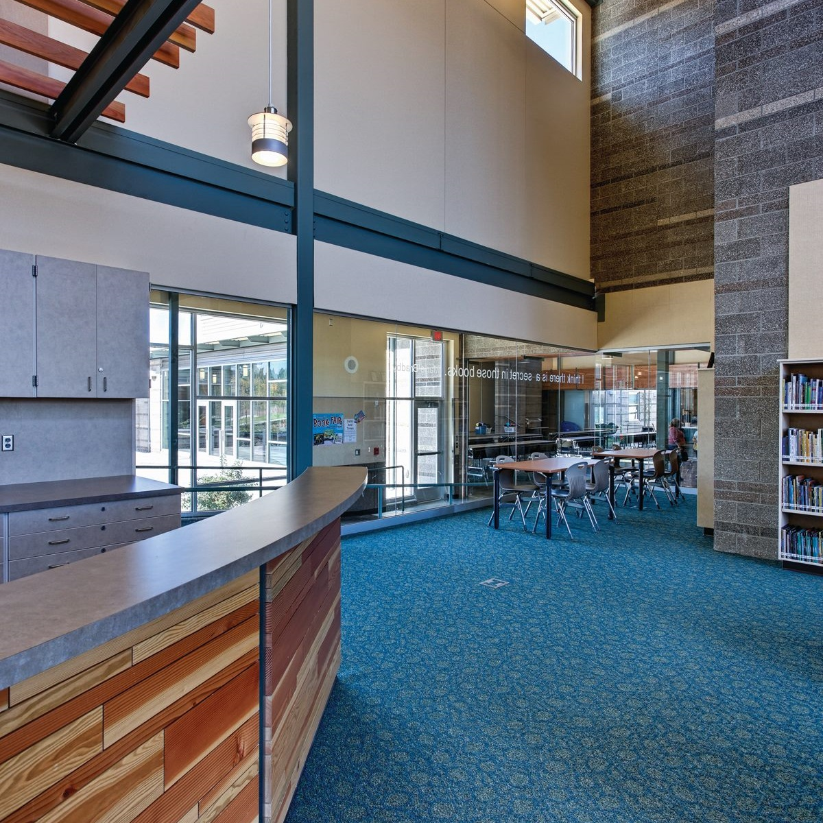 Sherwood Elementary/Middle School  With Dull Olson Weekes Architects