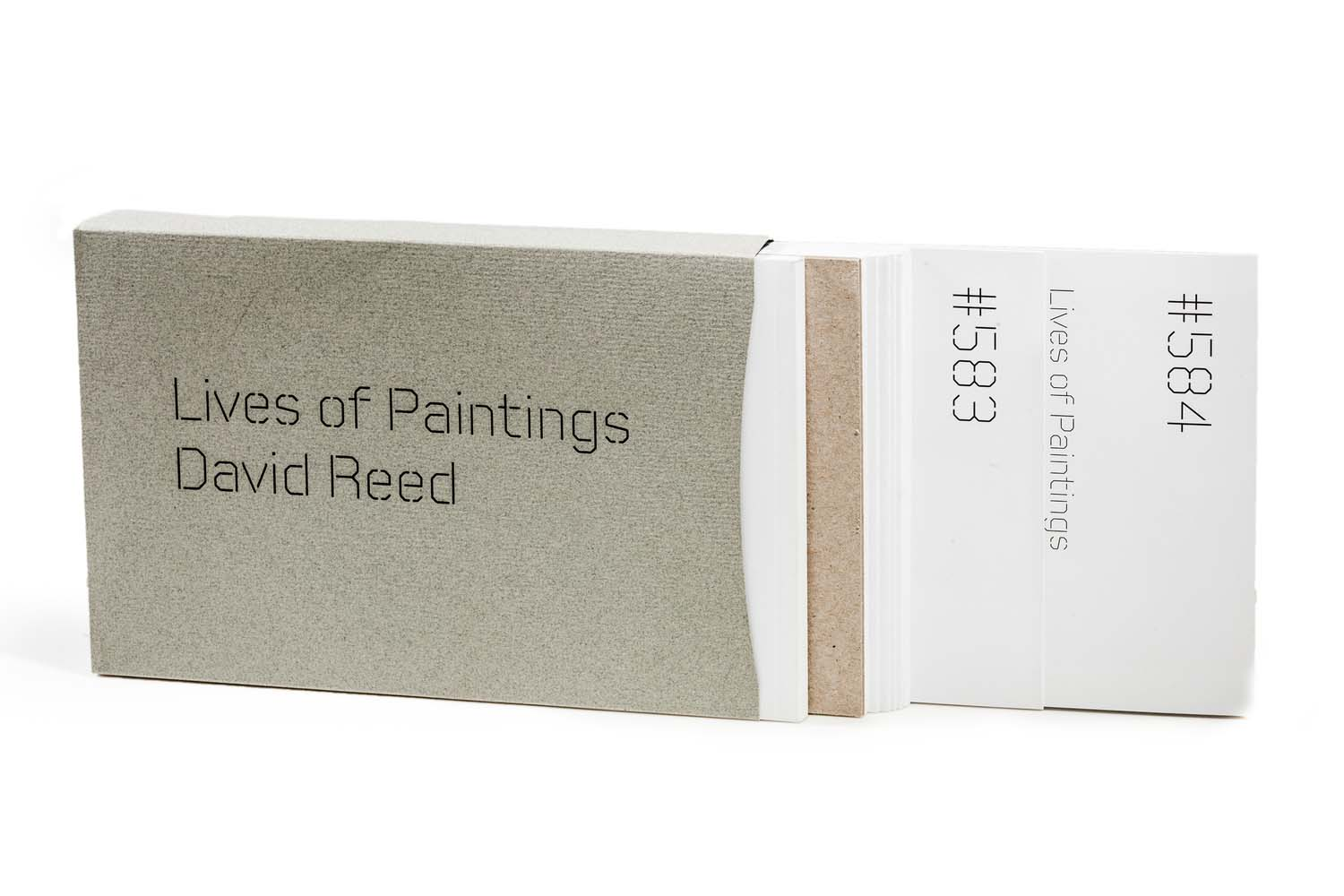 David Reed: Lives of Paintings, exhibition   catalog  , Cooley Gallery