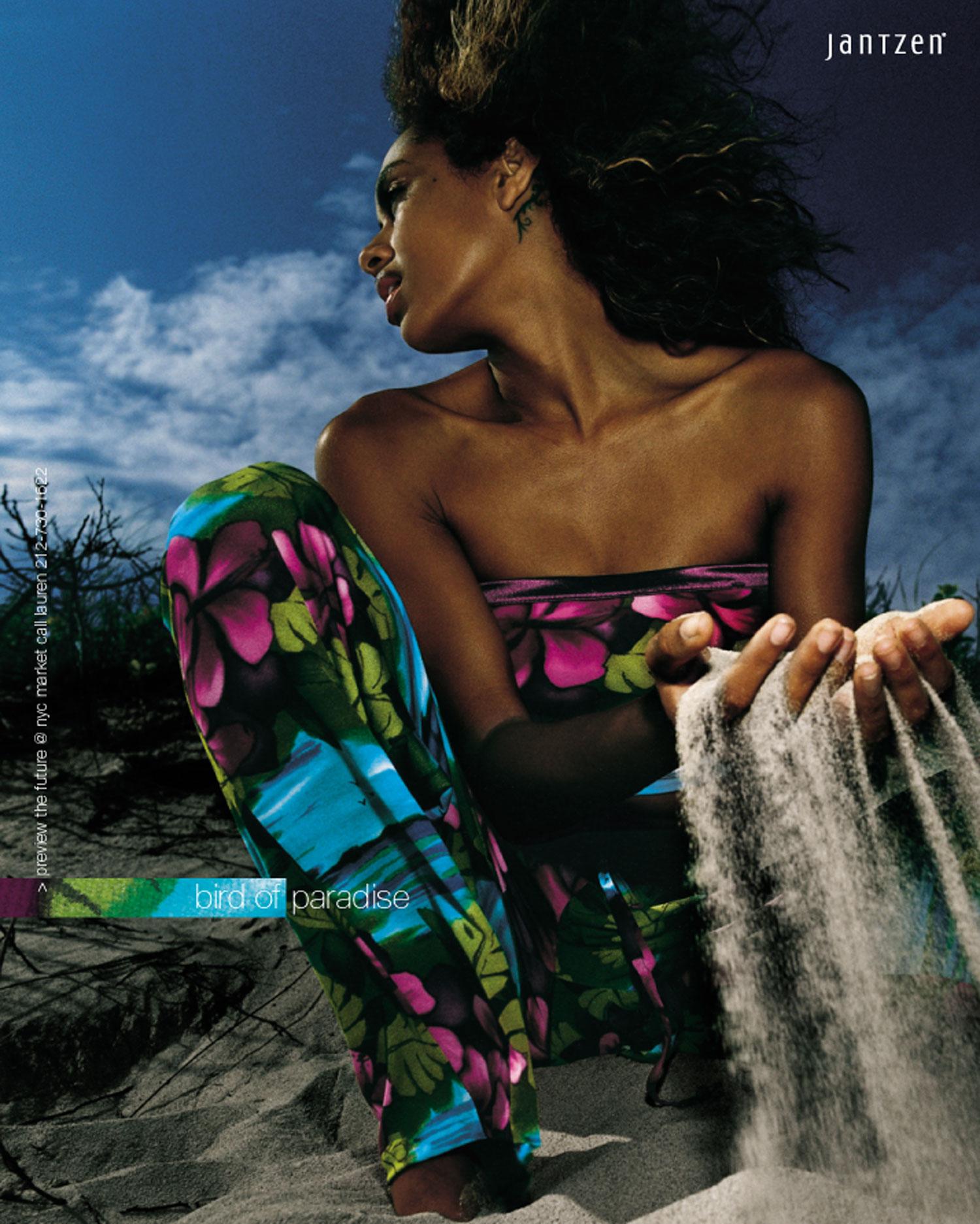 Print ad, Jantzen swimwear