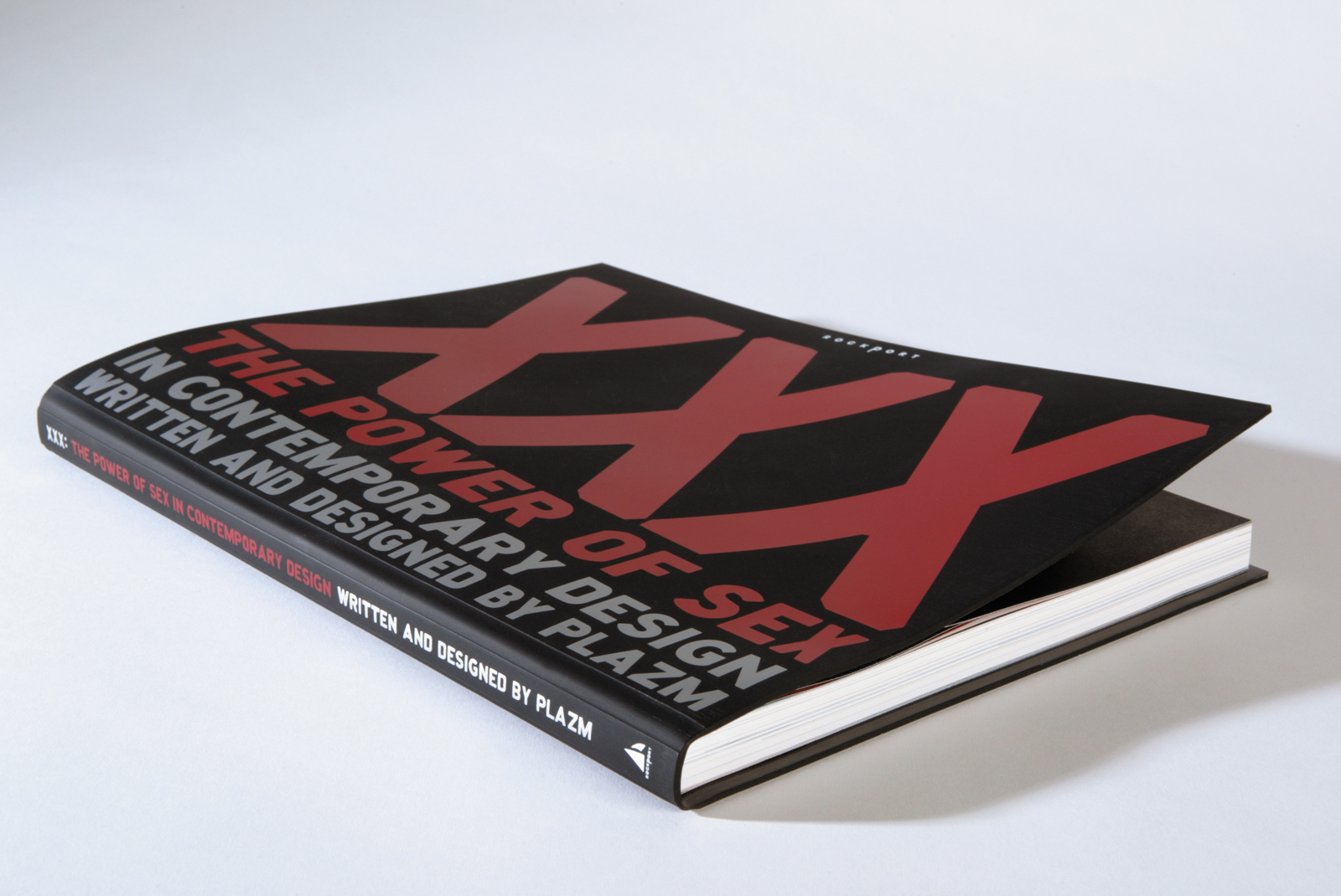 XXX: The Power of Sex in Contemporary Design, book curation and editorial design. Silkscreened rubber cover