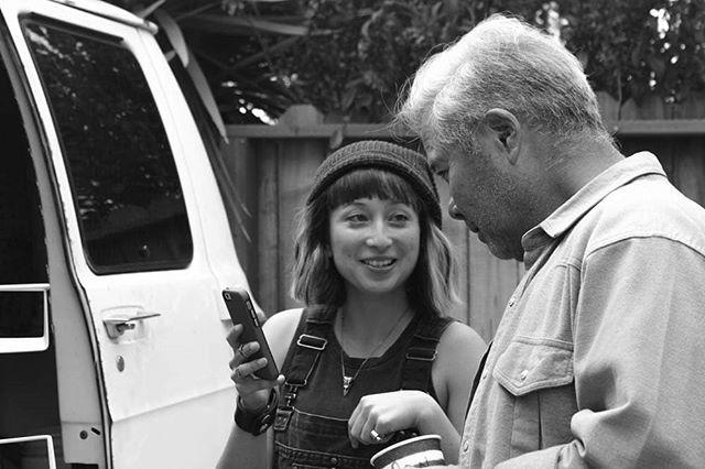 JEAN and JIMMY/Marica and Randy 🛁🦉 #KANEKOSOWL #onandoffcamera ... 📷: @thewaysofchin and @clamorousdesign ... ... ... #radixtroupe #indiefilm #oaklandfilmmakers #bayareaartists #bayareafilmmakers #oakland #eastbay #bayareaeart #originalstorytelling # #behindthescenes #blackandwhitephotos #setlife #onset #indiefilmmaking #independentfilm #firstfeature  #asiansinfilm #asianamerican #asianamericanart #hapalife #hapagirl #womenbehindthecamera #bayareafilm #makingamovie #blackandwhite #blackandwhitephotos
