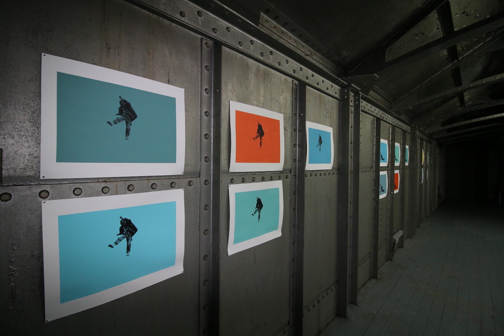 Installed at DOK Artist Space, The Steel Shed, Edinburgh. 2017