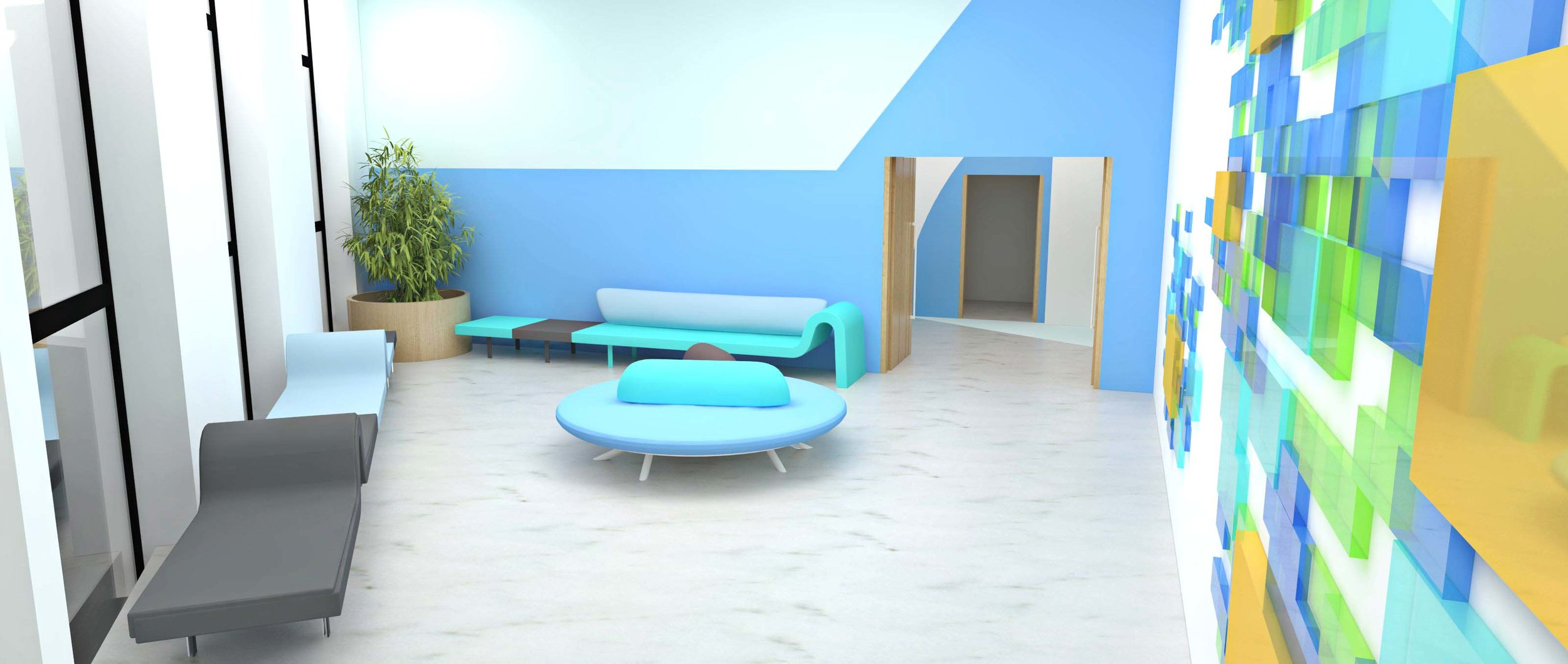 Interior design in Rhino 3d