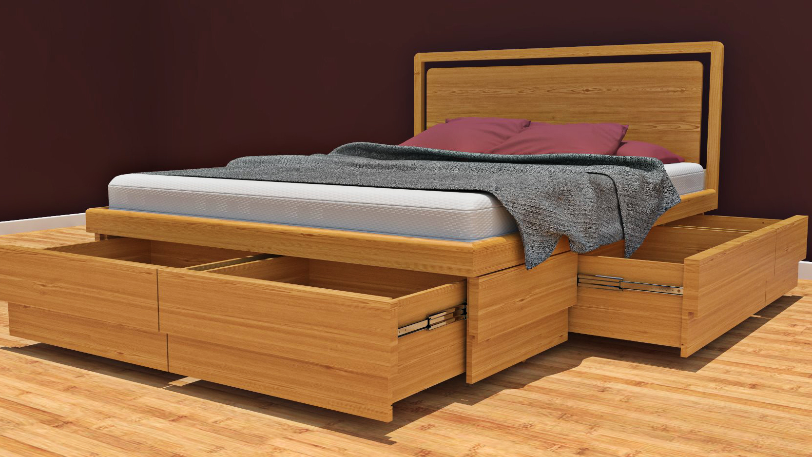Boxer Bed Product Visualisation