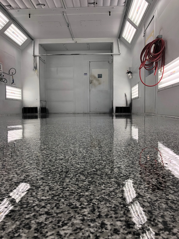 Flake+epoxy+Resin+floor+Garage+floor+coating