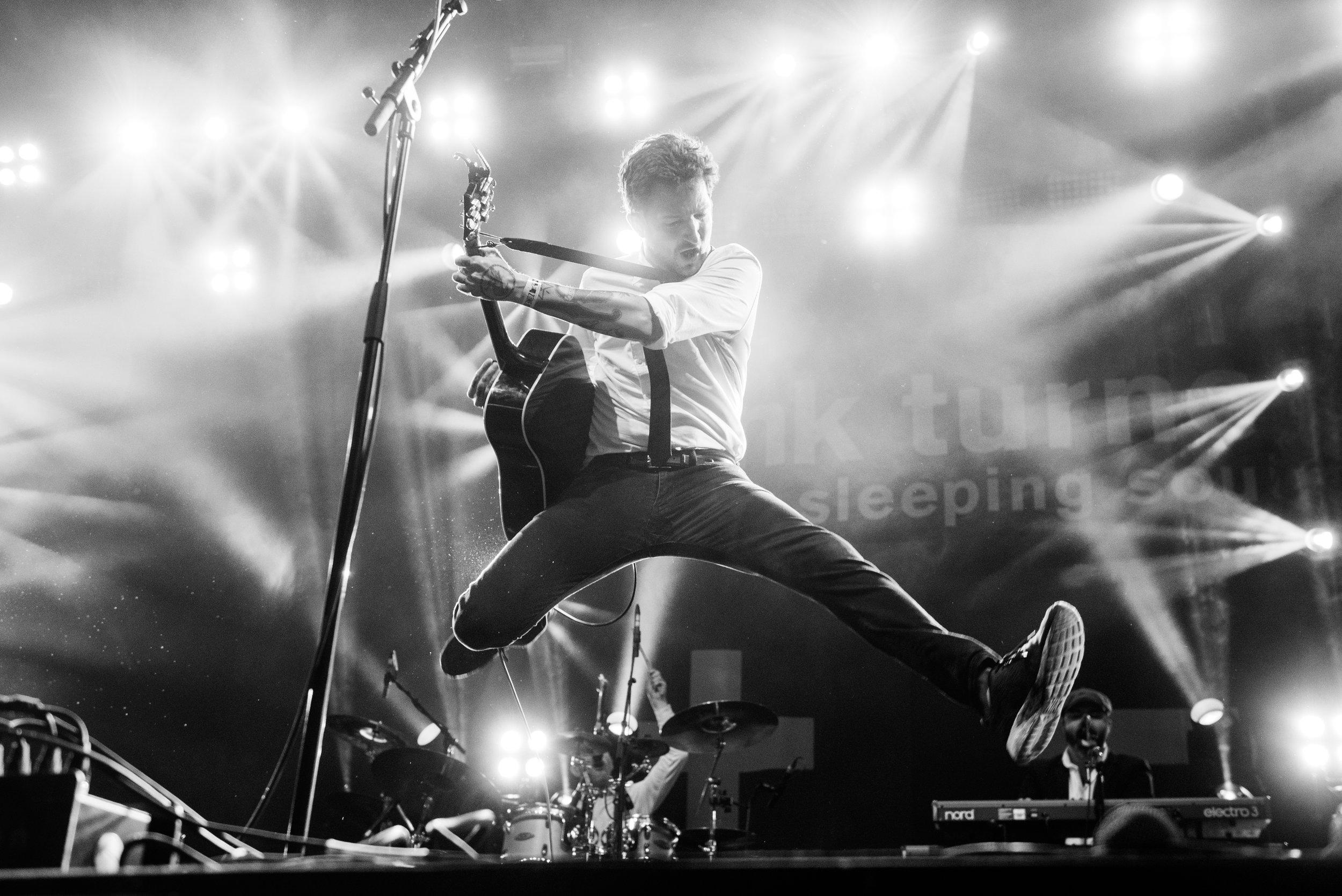 Frank Turner live - May 2016 Credit Lotte Schrander