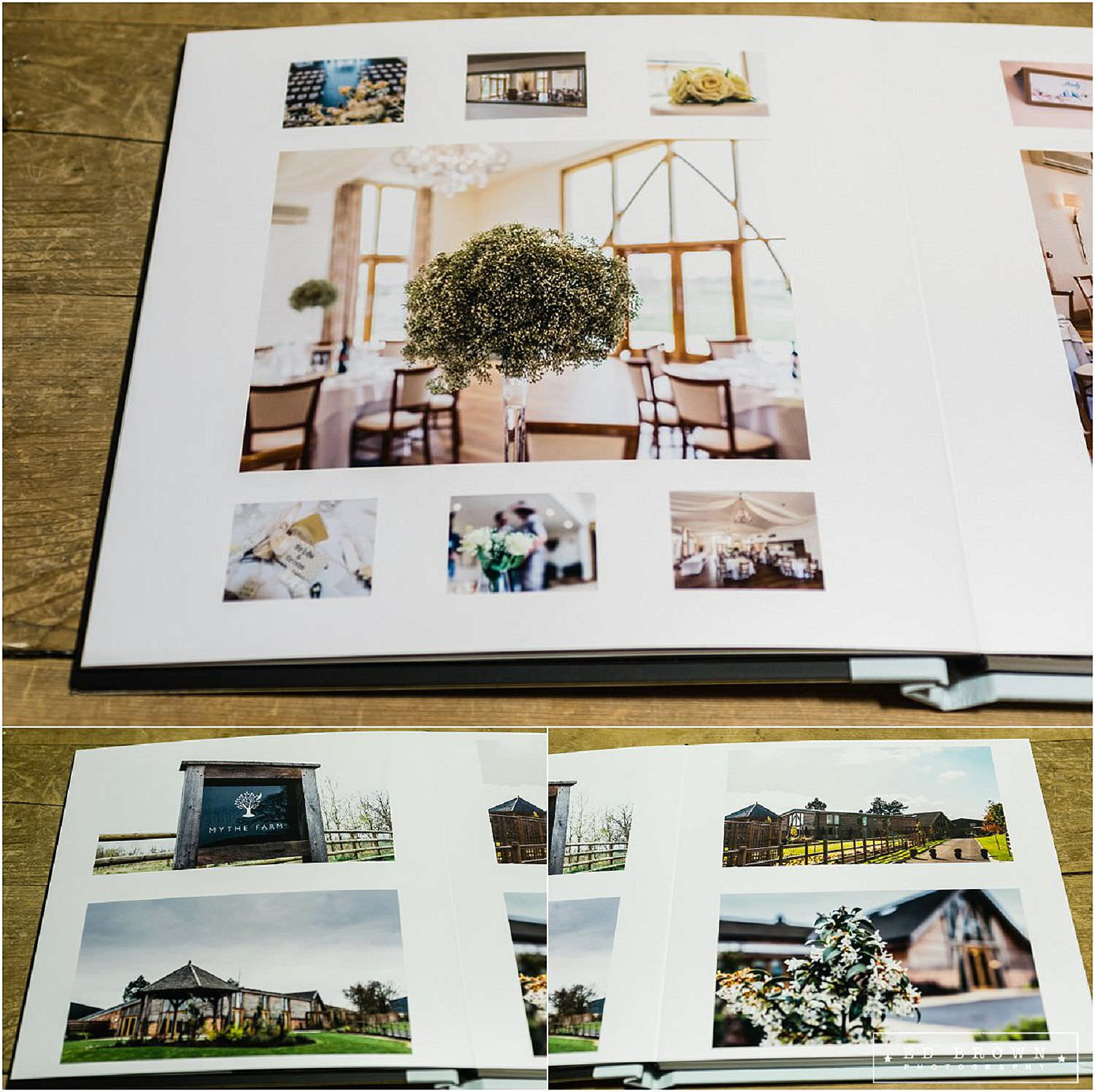 Mythe Barn Wedding Album.jpg