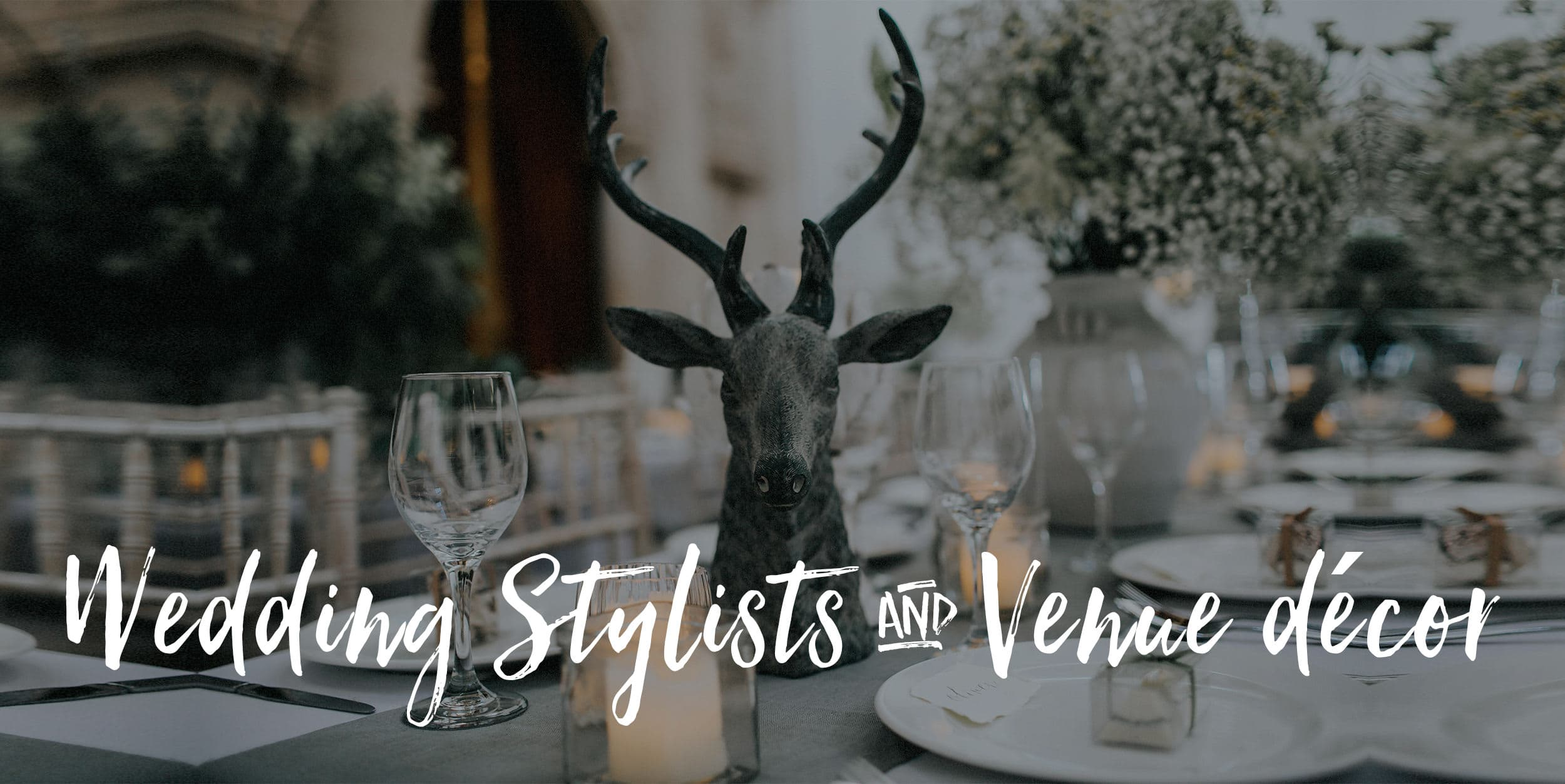 wedding styling and decoration