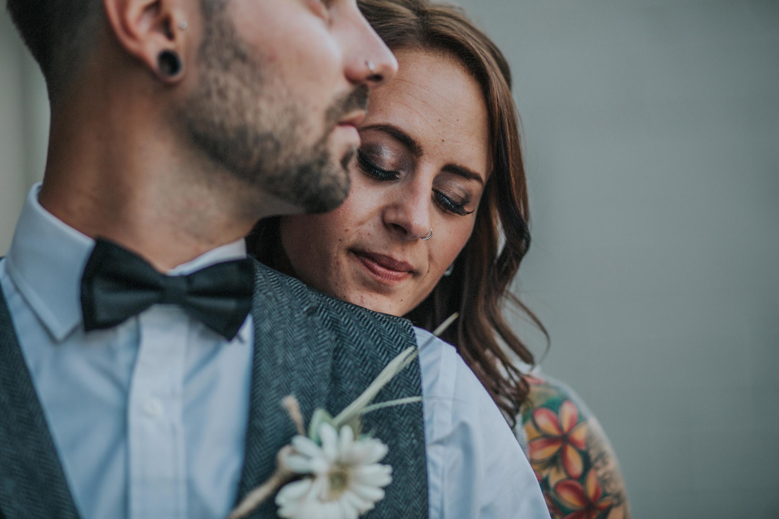Creative and Alternative Birmingham wedding photographer
