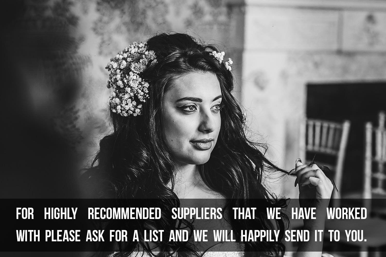 wedding suppliers midlands