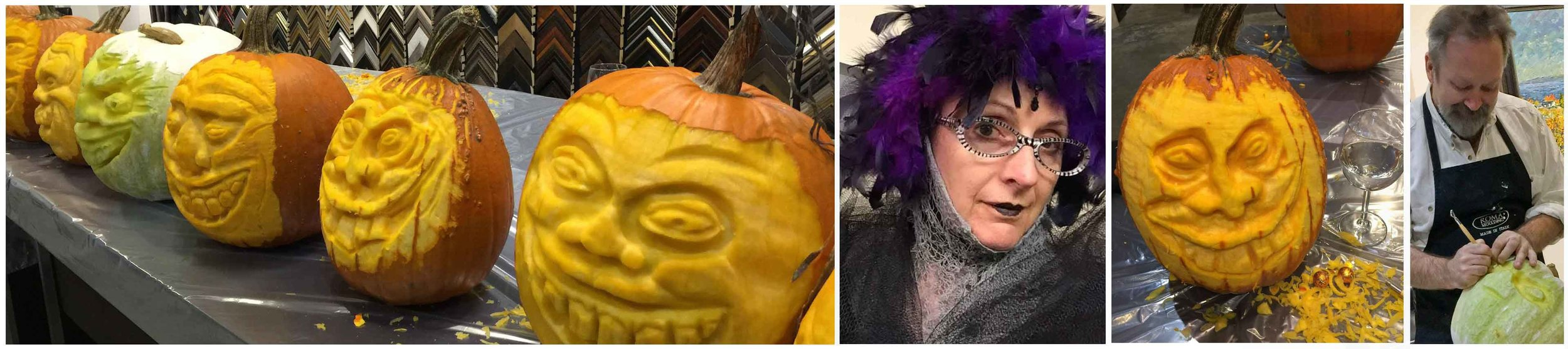 Illustrator, painter, writer, designer and Pumpkin carver  extraordinaire  – Richard Jacobson shares his secrets in creating incredible 3D Pumpkin carvings just in time for Halloween. The results – brilliant! Can't wait for next year.   www.artworldfineart.com