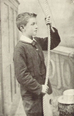 Young Ernest with a Rope