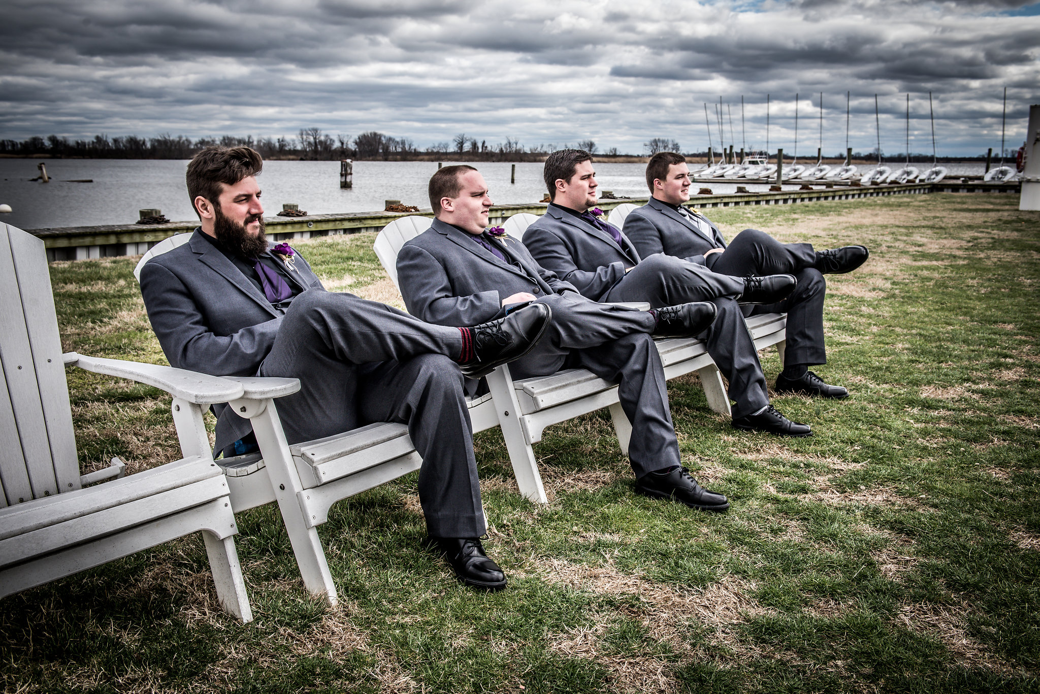 groomsmen-corinthian-yacht-club