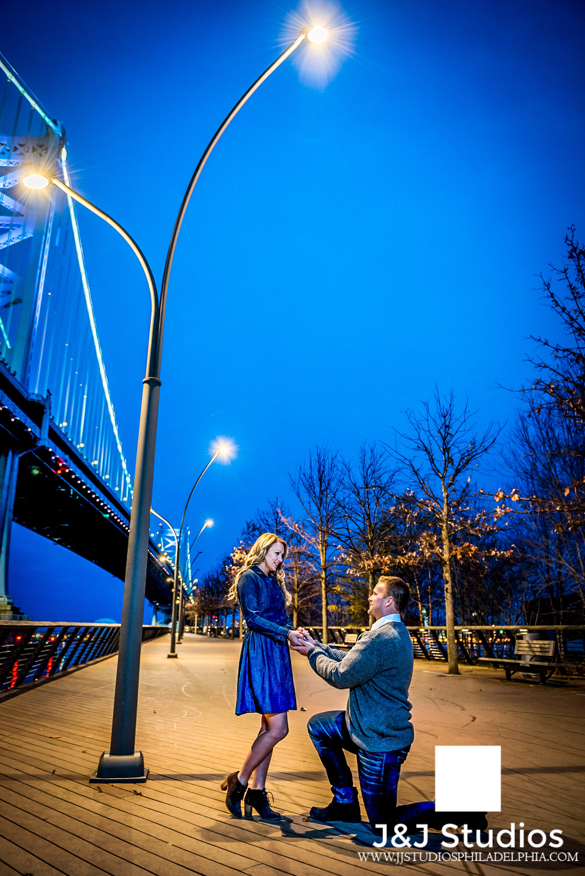 race-street-pier-night-engagement-session