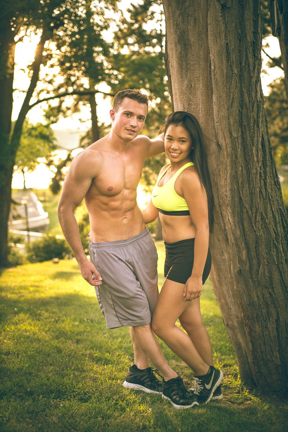 fitness-goals-couple-engagement-shoot