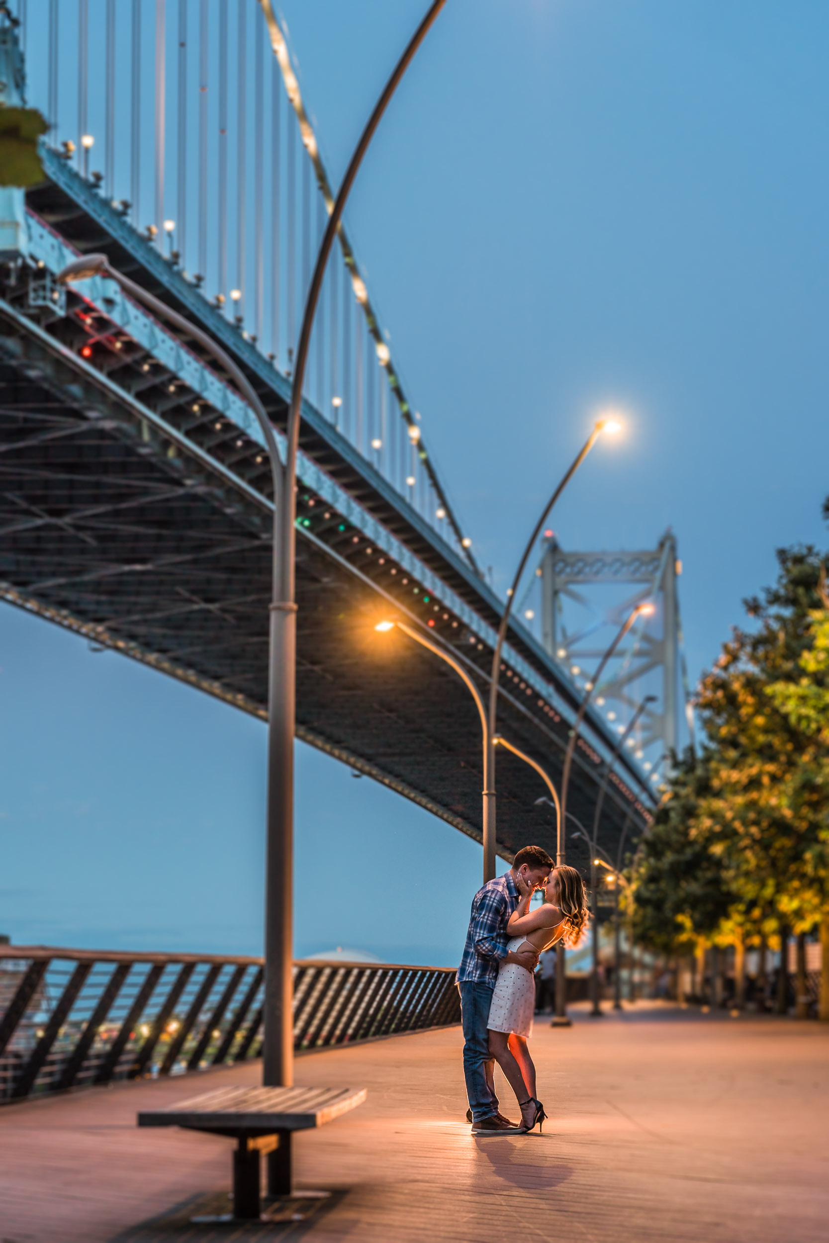 race-street-pier-night-engagement