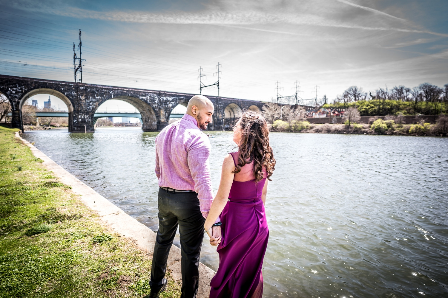 kelly-drive-schuylkill-river-engagement-shoot