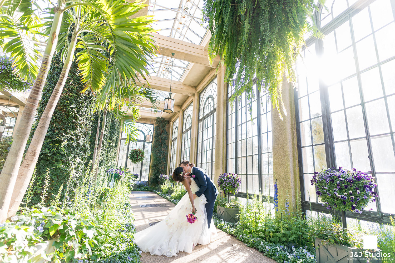 longwood-gardens-bride-groom-portraits