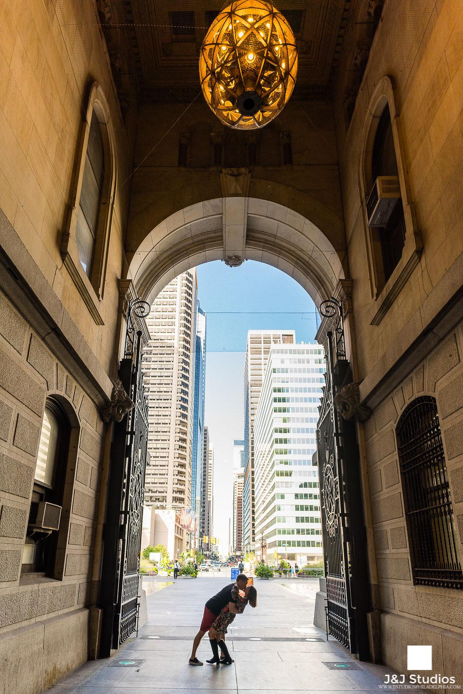 Philadelphia-city-hall-silhouette-engagement