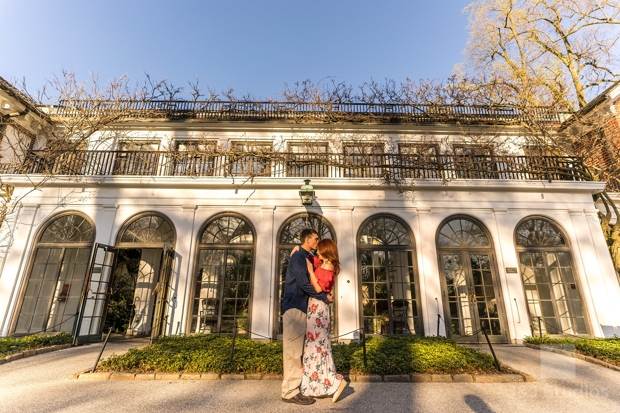 longwood gardens kennett square engagement