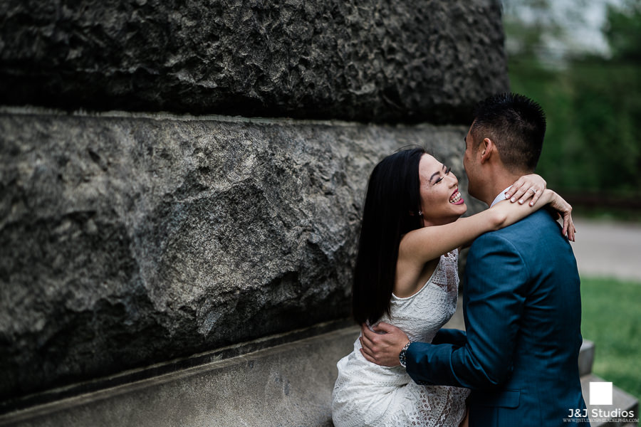 Tony and Quynh Please Touch Museum Engagement