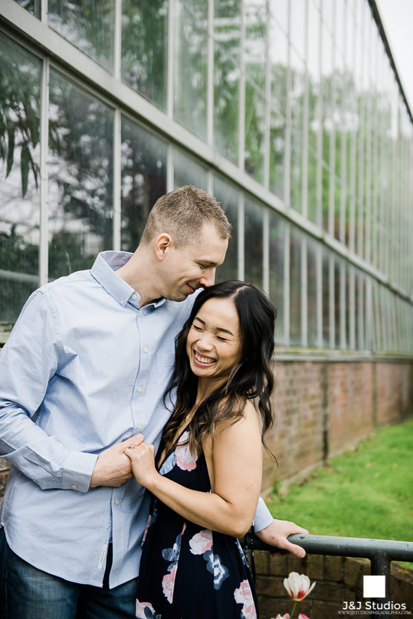 Josh + Jen Horticulture Center Engagement