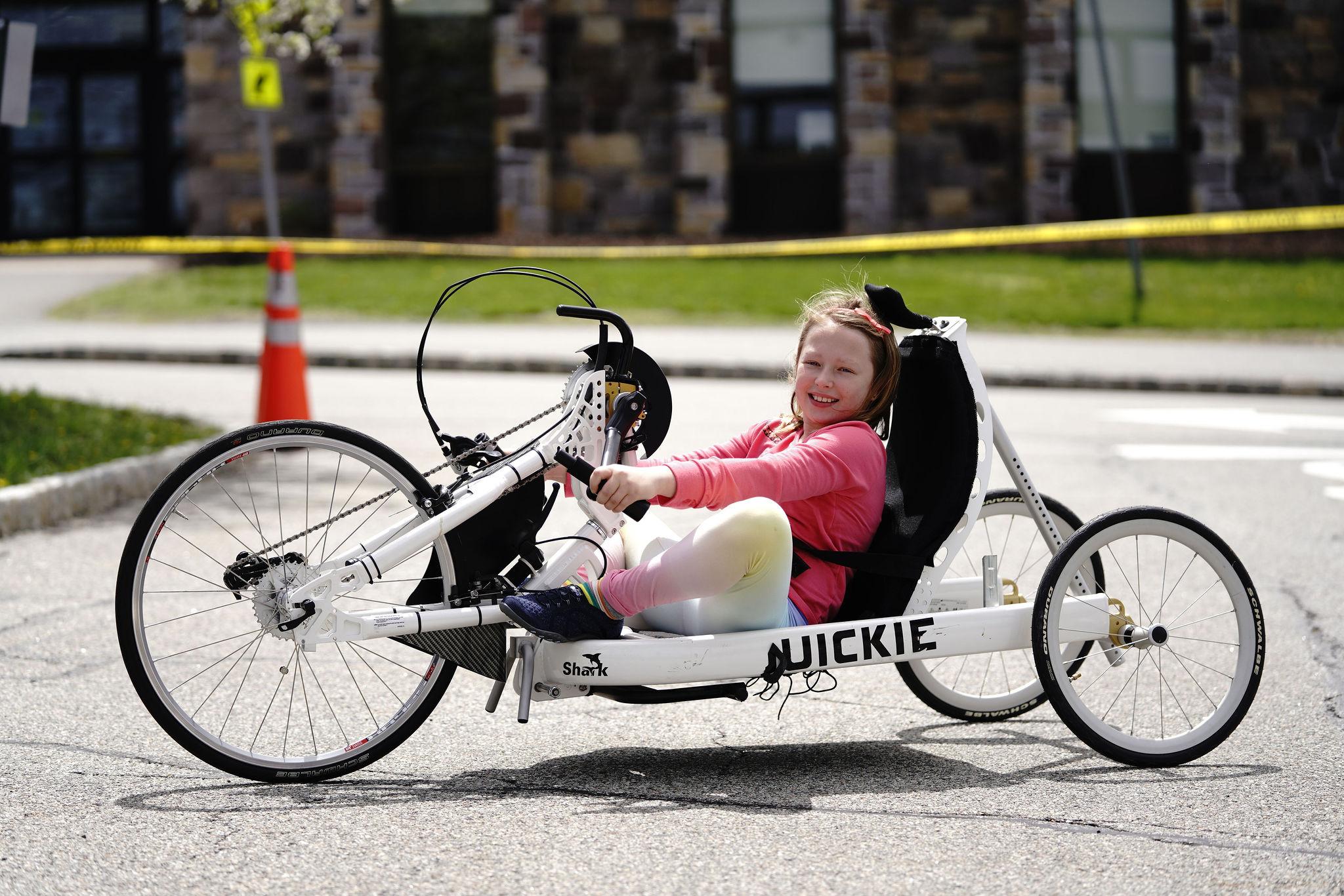wheelchair cycling