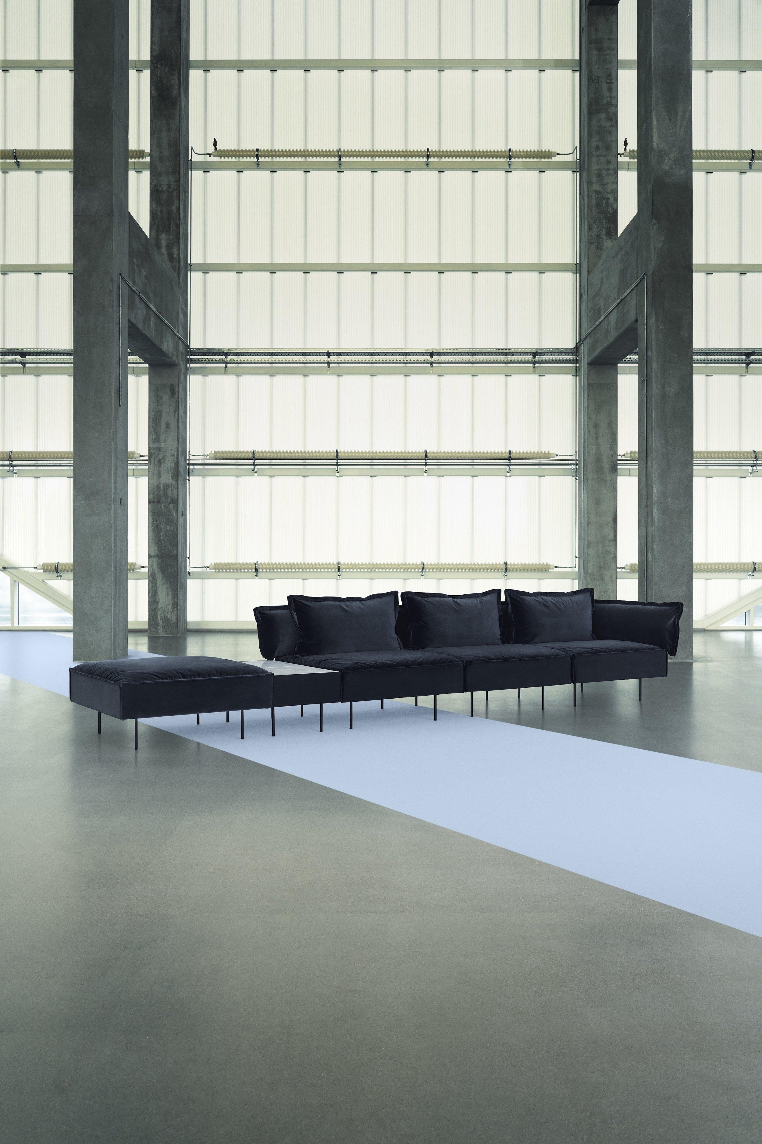 _HANDVARK CAMPAIGN 2017 - Modular Sofa in Dark Grey with White Marble table Portrait.jpeg