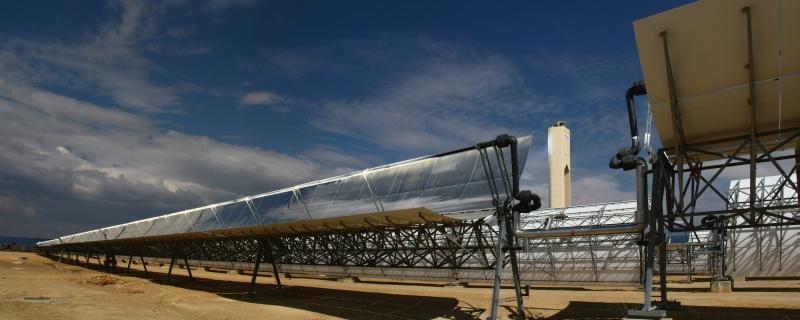 An Abengoa Concentrating Solar Power plant