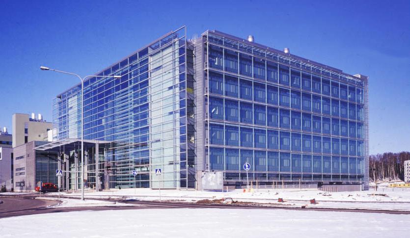 Viikin kampus ja 3M Prestige ikkunakalvot