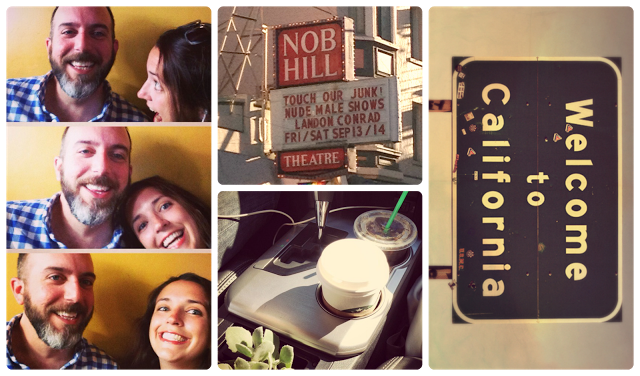 Traveling Houseplants and some junk on Nob Hill