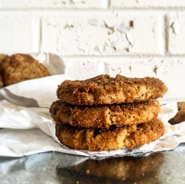Dark Brown Sugar Cookies