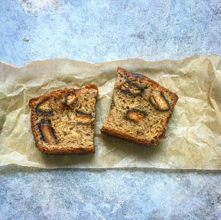 Girl Scout Peanut Butter Chocolate Banana Bread
