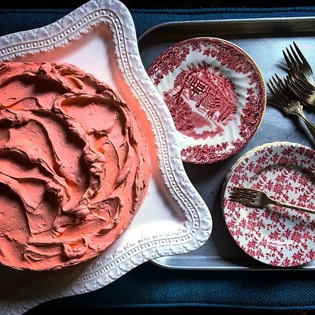 Sunday Strawberry French Buttercream #oui