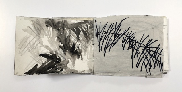 Image: A sketchbook made as part of TGGG residency.