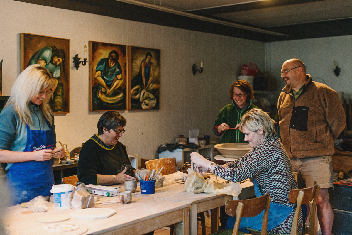 Courses - Being at Tolne Gjæstgivergaard is a chance to get back to basics, to be inspired, to create and to relax.